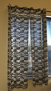 Ikea Curtains 4 panels