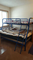 BUNK BED blue