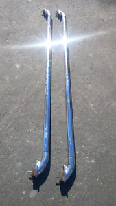 Chrome box rail bars great condition