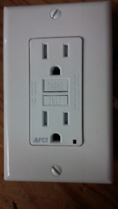 Arc fault receptacles