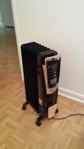 Electric Oil-Filled Space Heater