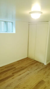 2 bedroom basement for rent near kennedy subway.