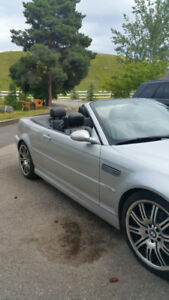 BMW M3 Convertible  ultra clean, 2003 classic lines