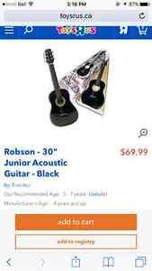 "Brandnew acoustic guitar 30"" Edmonton Edmonton Area image 2"
