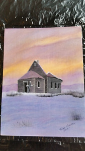 "Just finished  ""The Broken Church"""