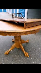 Beautiful pine wood dining/ kitchen table
