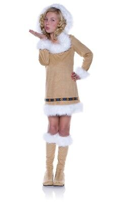 Underwraps Eskimo Kisses Girls Costume X-Large New Free Shipping ](Kiss Costumes For Girls)