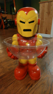 Iron man candy holder