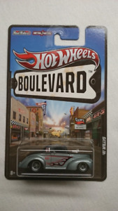 2012 HOT WHEELS BOULEVARD 41 WILLYS COUPE RR DIECAST MINT 1:64