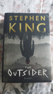 The Outsider a novel by Stephen King hardcover