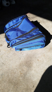 motorcycle backrest/tank bag cortec