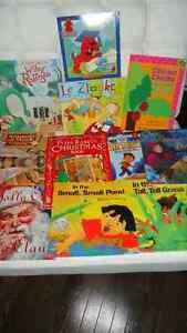 11 books in great condition for $10.00.If ad is on it is availab
