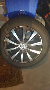 2009 VW Touren Rims