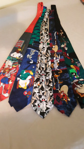 Bugs Bunny And Friends Ties