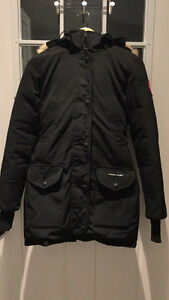 AUTHENTIC CANADA GOOSE BLACK TRILLIUM PARKA SIZE XXS London Ontario image 2