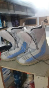 Snowboard and boots for SALE for adults