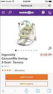 Ingenuity convert me swing-2-seat