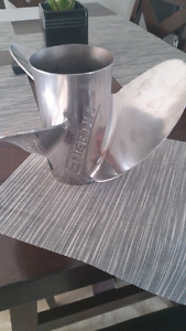 Stainless steel prop