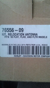 Harley Davidson antenna relocation kit. For tourpack.