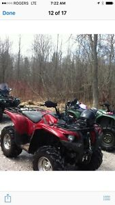 2009 Yamaha Grizzly 700 limited  edition open to offers