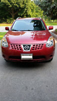 2008 Nissan Rogue SL SUV, Crossover with winter tires on rims