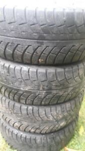 R16 205-55 WINTER TIRES