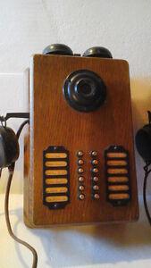 Ancien système de communication.Il en reste 2 seulement.
