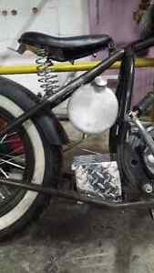1967 BSA chopper project Cambridge Kitchener Area image 2