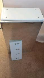 Brand new Ikea mirrored bathroom cabinet