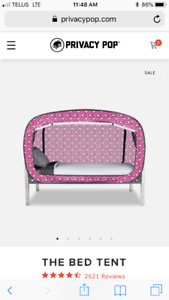Hello kitty queen size privacy pop tent