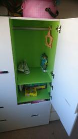 Childrens Habitat SLOT wardrobe