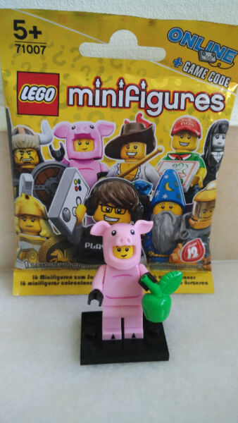 Brand New Lego Minifigures Series 12 - Piggy Guy