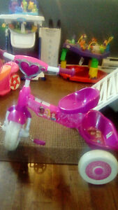 Girls princess bike. And a little tikes power trike