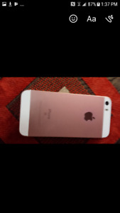 Rose gold iPhone se for sale
