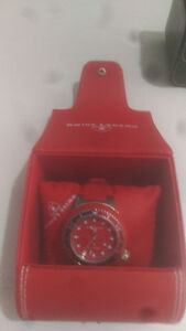 Red Swiss Watch