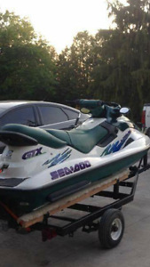 Looking to trade seadoo for boat