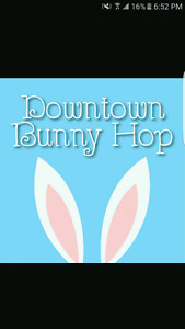 ISO, Two Team Four BunnyHop tickets.