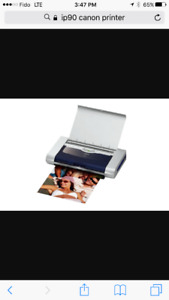Uber loved Awesome Canon ip90 portable printer!