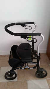 Rollator Medical Folding Walker with Wheels and Padded Seat Windsor Region Ontario image 1