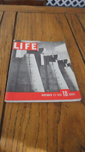 First ever issue of life magazine