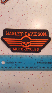Écusson Harley Davidson Motor Cycles patchs