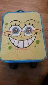 Spongebob Squarepants Rolling Luggage with Retractable Handle