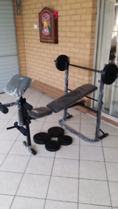 Bench press new condition