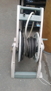 "Hose caddy with 25 "" hose"