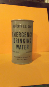 Canne emergency drink militaire