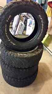 BF GOODRICH KO 2 TIRES FOR SALE...