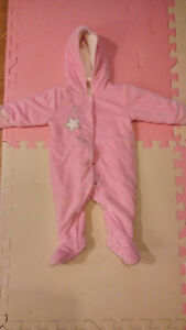 First Wish infant snowsuit 6-9 month (like new)