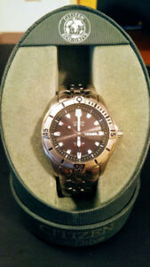 Citizen Eco-Drive Titanium Dive Watch 200m WR