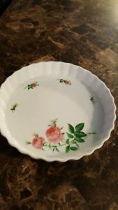 Porcelain Pie Plate