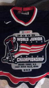 Official World Juniors promo Jersey. 2005.